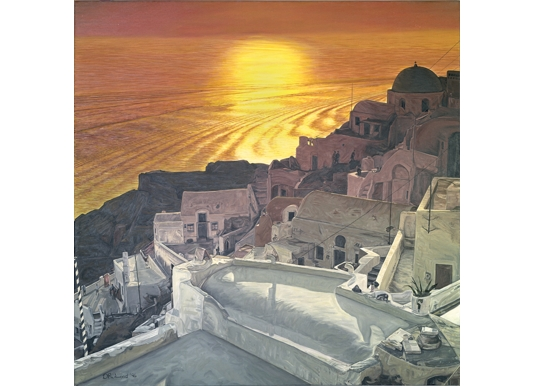 Santorini Sunset 1996